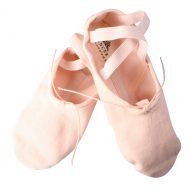 Balletschoen Dancer Dancewear Stretch Pro Canvas roze split zool