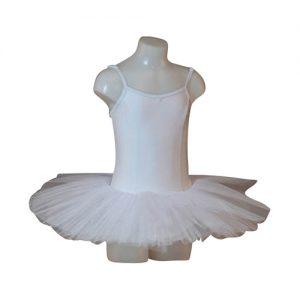 Balletpakje met Tutu Capezio wit