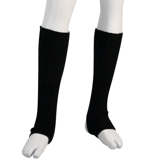 Beenwarmer Dancer Dancewear 40cm zwart