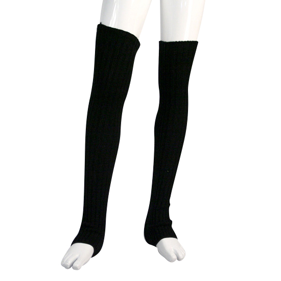Beenwarmer Dancer Dancewear 60cm zwart