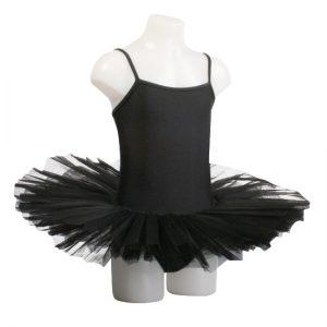 Balletpakje met Tutu Danceries Noelle U02 Zwart