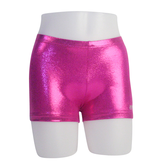 Turnbroekje Ervy Hipster lack shine party pink