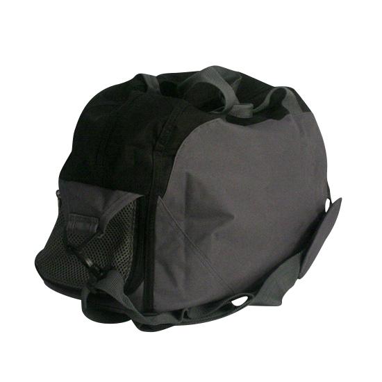 Sport tas zwart grijs 2