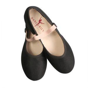 Caractere schoen Danceries Low heel Z65 Schwarz