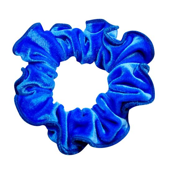 Haarwokkel Ervy Velvet royal blau