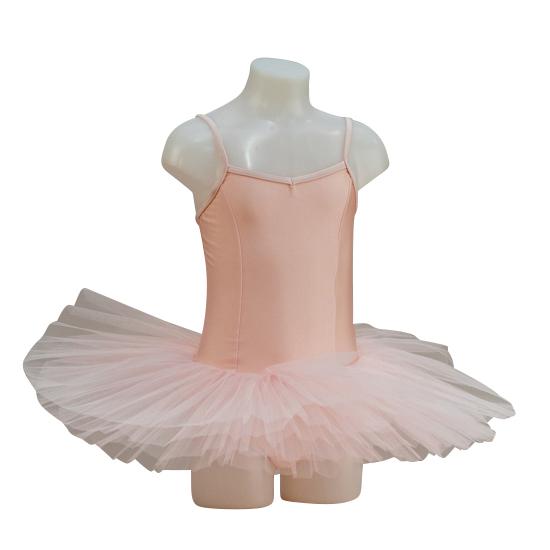 Balletpakje met tutu capezio roze