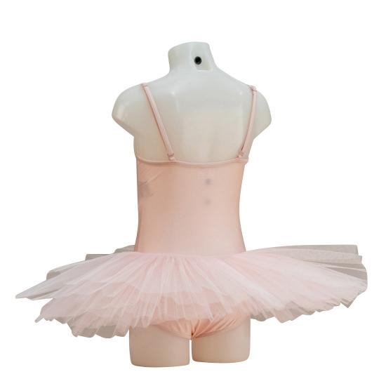 Balletpakje met tutu capezio roze 2