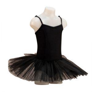 Balletpakje met tutu capezio zwart