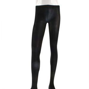 Balletpanty Dancer Dancewear zwart met voet