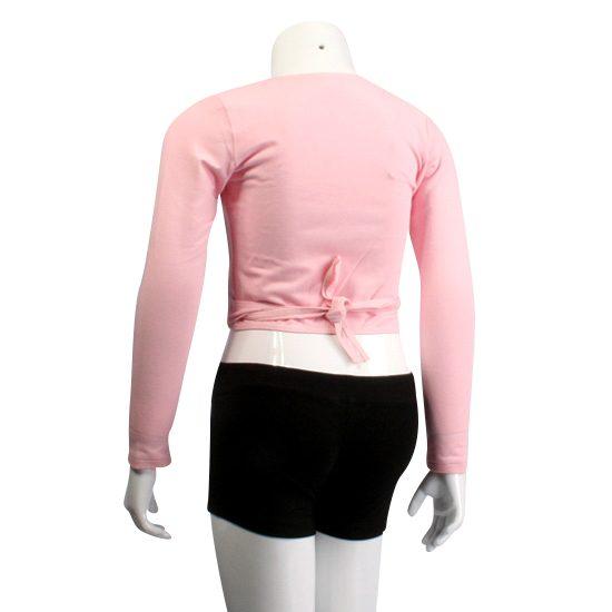 Balletvestje Danceries Rose Z26 roze.