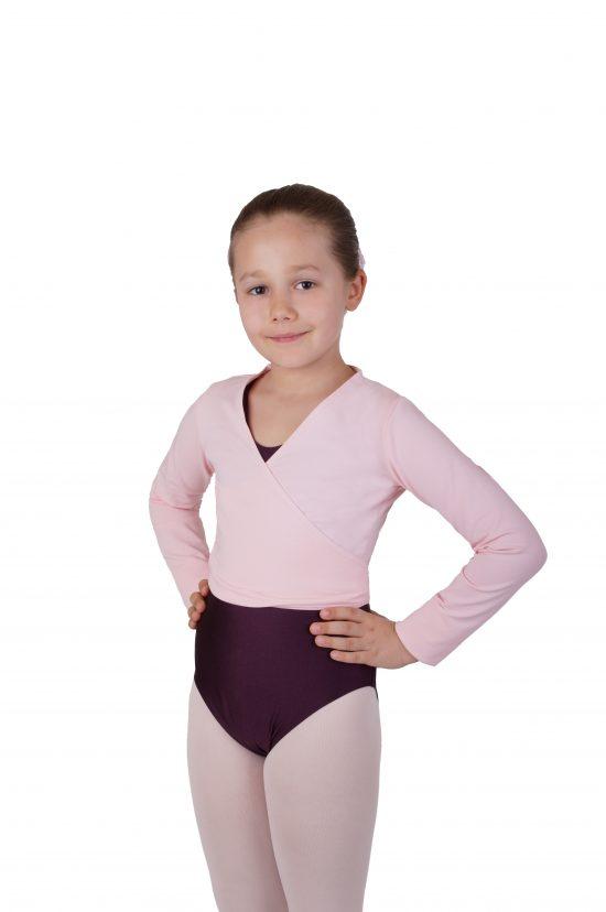 Balletvestje Danceries Rose Z26 roze
