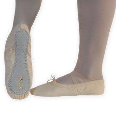 Balletschoenen Dancer Dancewear Excel roze hele zool